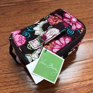 Vera Bradley Travel Jewelry Bag Mod Floral Pink